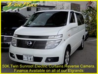 USED 2002 NISSAN ELGRAND XL 3.5 Auto, Twin Sunroof, Power Curtains +50K+Twin Sunroof+Curtains+