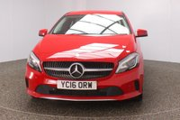 USED 2016 16 MERCEDES-BENZ A-CLASS 1.5 A 180 D SPORT PREMIUM 5DR SAT NAV LEATHER SEATS 107 BHP FULL MERCEDES SERVICE HISTORY + £20 12 MONTHS ROAD TAX + HEATED LEATHER SEATS + SATELLITE NAVIGATION + REVERSE CAMERA + PARK ASSIST + PARKING SENSOR + BLUETOOTH + CLIMATE CONTROL + MULTI FUNCTION WHEEL + XENON HEADLIGHTS + ELECTRIC WINDOWS + RADIO/CD/AUX/USB + ELECTRIC MIRRORS + 17 INCH ALLOY WHEELS