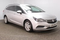 USED 2016 66 VAUXHALL ASTRA 1.6 DESIGN CDTI ECOFLEX S/S 5DR 108 BHP SERVICE HISTORY + FREE 12 MONTHS ROAD TAX + PARKING SENSOR + BLUETOOTH + CRUISE CONTROL + MULTI FUNCTION WHEEL + AIR CONDITIONING + DAB RADIO + PRIVACY GLASS + XENON HEADLIGHTS + ELECTRIC WINDOWS + RADIO/USB + ELECTRIC MIRRORS