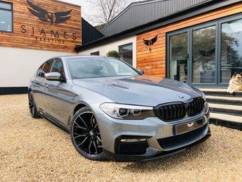 2017 BMW 5 SERIES 2.0 520D M SPORT 4d 188 BHP £21490.00