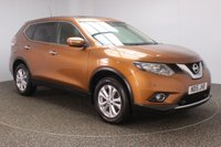 USED 2015 15 NISSAN X-TRAIL 1.6 DCI ACENTA 5DR 130 BHP SERVICE HISTORY + PANORAMIC ROOF + PARKING SENSOR + BLUETOOTH + CRUISE CONTROL + MULTI FUNCTION WHEEL + CLIMATE CONTROL + RADIO/CD/AUX/USB + PRIVACY GLASS + ELECTRIC WINDOWS + ELECTRIC MIRRORS + 17 INCH ALLOY WHEELS