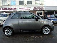 USED 2015 15 FIAT 500 0.9 TWINAIR C LOUNGE DUALOGIC 3d 85 BHP
