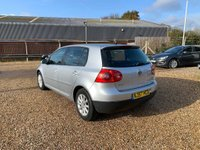 USED 2007 57 VOLKSWAGEN GOLF 1.9 TDI Match DSG 5dr Genuine Car With 9 VW Stamps