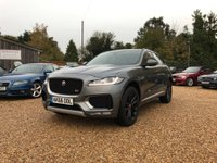 USED 2016 66 JAGUAR F-PACE 3.0d V6 S Auto AWD (s/s) 5dr PanRoof, Meridian, Red Leather