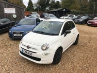 USED 2016 16 FIAT 500 1.2 8V Pop (s/s) 3dr 1 Owner and £20 Road Tax