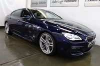 USED 2016 16 BMW 6 SERIES 3.0 640d M Sport Gran Coupe Auto (s/s) 4dr £11K OF EXTRAS! EURO 6!