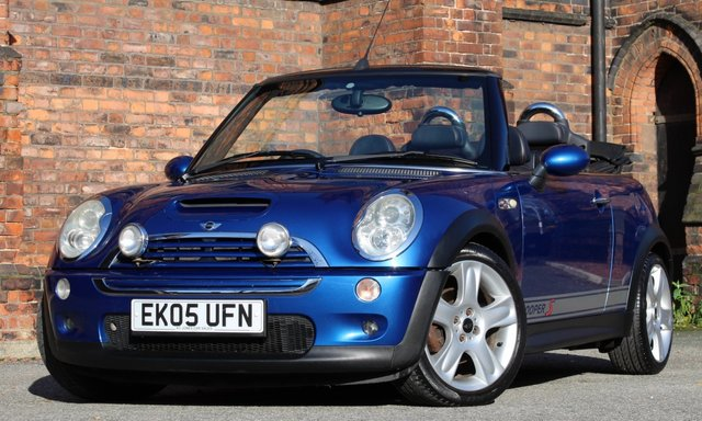 2005 05 MINI CONVERTIBLE 1.6 COOPER S 2d 168 BHP [ FULL LEATHER ]