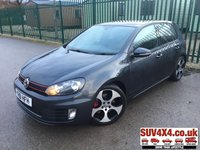 USED 2011 61 VOLKSWAGEN GOLF 2.0 GTI DSG 5d 210 BHP SUNROOF SAT NAV LEATHER FSH SUNROOF. STUNNING GREY MET WITH BLACK LEATHER SPORTS TRIM. HEATED SEATS. CRUISE CONTROL. 18 INCH ALLOYS. COLOUR CODED TRIMS. PRIVACY GLASS. PARKING SENSORS. BLUETOOTH PREP. CLIMATE CONTROL WITH AIR CON. R/CD PLAYER. MFSW. MOT 09/20. SERVICE HISTORY. PRESTIGE SUV CENTRE LS23 7FR TEL 01937 849492 OPTION 1