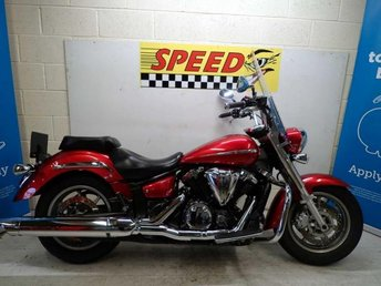 2008 YAMAHA XVS 1300 A MIDNIGHT STAR