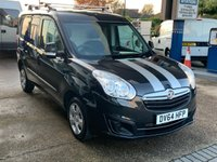 USED 2014 64 VAUXHALL COMBO 1.2 2000 L1H1 CDTI SPORTIVE 90 BHP Connect Doblo Forino CouriourType Van Low Mileage Air Conditioning Service History  Vauxhall Combo Connect Doblo Forino Type Van Low Mileage Service History Electric Windows Power Steering Remote Locking Air Conditioning Side Door 12 Months FREE AA Breakdown Cover