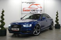 USED 2014 14 AUDI A4 2.0 TDI BLACK EDITION START/STOP 4d 148 BHP GREAT EXAMPLE, LOW MILES, GOOD SPEC