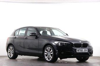 2016 BMW 1 SERIES 2.0 118D SPORT 5d 147 BHP £10950.00