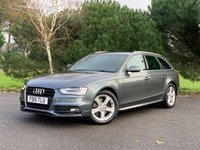 USED 2015 15 AUDI A4 2.0 TDI ULTRA S LINE 5d 161 BHP 2 OWNER ULTRA S LINE A4 ESTATE WITH FSH IN GREY WITH HEATED SPORTS SEATS FSH