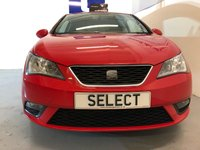 USED 2013 63 SEAT IBIZA 1.4 TOCA 3d 85 BHP WAS £4999 NOW £4750 SAVING almost £250 JAN Black Tag SALE !!!! Fine example with Sat Nav,black spoked alloys,air con-great service history sensible insurance rating and great value