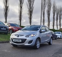 USED 2012 12 MAZDA 2 1.5 TS2 ACTIVEMATIC 5d 101 BHP FULL SERVICE RECORD *  FULL YEAR MOT *  ALLOY WHEELS *  CLIMATE CONTROL *