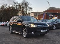 USED 2013 63 MITSUBISHI OUTLANDER 2.3 DI-D GX 5 5d 147 BHP NAVIGATION SYSTEM * PRIVACY GLASS * SUNROOF * PARKING AID * SERVICE RECORD *