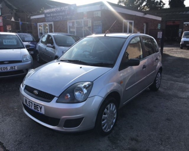 2007 57 FORD FIESTA 1.2 STYLE 16V 5d 78 BHP