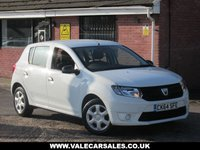 USED 2014 64 DACIA SANDERO 1.2 AMBIANCE (1 OWNER+ONLY 23,000 MILES) 5dr ONE OWNER WITH ONLY 23,000 MILES FROM NEW
