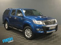 USED 2015 65 TOYOTA HILUX 3.0 INVINCIBLE 4X4 D-4D DCB (NO VAT) * 0% Deposit Finance Available