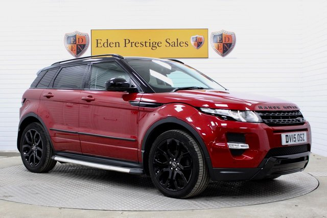 USED 2015 15 LAND ROVER RANGE ROVER EVOQUE 2.2 SD4 DYNAMIC 5d 190 BHP *PAN ROOF*PWR BOOT*
