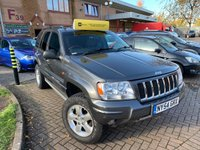 USED 2005 54 JEEP GRAND CHEROKEE 4.7 V8 OVERLAND 5d 255 BHP LPG GAS CONVERSION