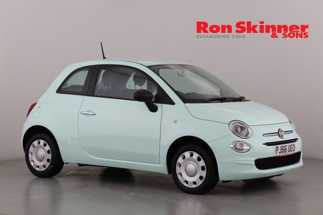 View our 2016 66 FIAT 500 1.2 POP 3d 69 BHP
