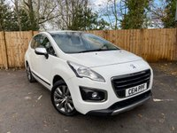 USED 2014 14 PEUGEOT 3008 1.6 HDI ACTIVE 5d 115 BHP (Full Service History, Cruise Control)