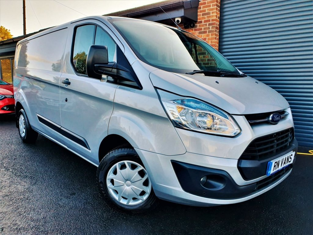 USED 2015 65 FORD TRANSIT CUSTOM 2.2 290 TREND LR P/V 153BHP *** VERY RARE 155 BHP - GREAT SPEC ***