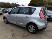 USED 2010 10 RENAULT SCENIC 1.5 DYNAMIQUE TOMTOM DCI 5d 105 BHP NEW MOT, SERVICE & WARRANTY