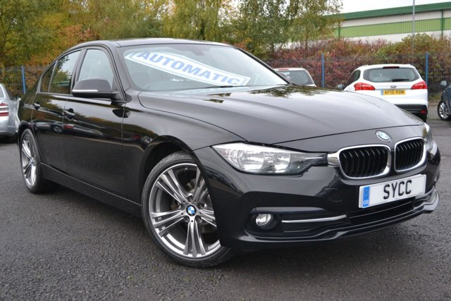 USED 2015 65 BMW 3 SERIES 2.0 320D ED SPORT 4d 161 BHP ~ 19