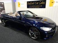 USED 2015 15 BMW 4 SERIES 3.0 430D M SPORT 2d 255 BHP CABRIOLET