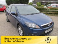 USED 2008 58 FORD FOCUS 1.6 ZETEC 5d 100 BHP AUTOMATIC GEARBOX ALLOYS CD AIRCON