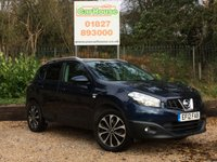 USED 2012 12 NISSAN QASHQAI 1.6 N-TEC PLUS+ 5dr Sat Nav, Pan Roof, 360 Camera