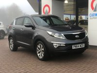 USED 2014 64 KIA SPORTAGE 2.0 CRDI KX-2 5d 134 BHP PAN ROOF | PART LEATHER |