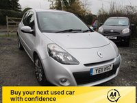 USED 2011 11 RENAULT CLIO 1.1 DYNAMIQUE TOMTOM TCE 3d 100 BHP SAT NAV CRUISE CONTROL ALLOYS AIRCON CD
