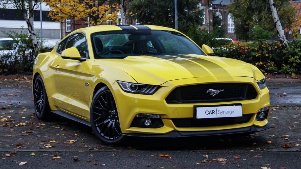 USED 2016 FORD MUSTANG 5.0 GT 2d 410 BHP