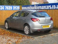 USED 2012 12 VAUXHALL ASTRA 1.6 ELITE 5d 177 BHP FSH X 6 STAMPS