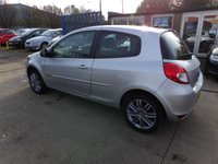 USED 2012 12 RENAULT CLIO 1.2 DYNAMIQUE TOMTOM 16V 3d 75 BHP NEW MOT, SERVICE & WARRANTY