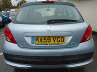 USED 2009 59 PEUGEOT 207 1.4 VERVE 5d 73 BHP GUARANTEED TO BEAT ANY 'WE BUY ANY CAR' VALUATION ON YOUR PART EXCHANGE