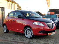 2013 CHRYSLER YPSILON 1.2 BLACK AND RED 5d 69 BHP £3895.00