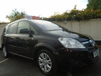 USED 2010 59 VAUXHALL ZAFIRA 1.6 ACTIVE PLUS 5d 113 BHP GUARANTEED TO BEAT ANY 'WE BUY ANY CAR' VALUATION ON YOUR PART EXCHANGE