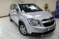 USED 2012 12 CHEVROLET ORLANDO 1.8 LT 5d 141 BHP MULTIPLE AIRBAGS / ISOFIX / AIRCON / CD TUNER / FRESHLY SERVICED / NEW MOT / 6 MONTH WARRANTY