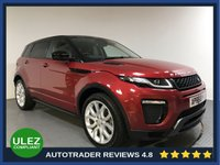 USED 2016 66 LAND ROVER RANGE ROVER EVOQUE 2.0 TD4 HSE DYNAMIC 5d 177 BHP FULL LAND ROVER HISTORY - 1 OWNER - SAT NAV - CAMERA - LEATHER - REAR SENSORS - AIR CON - BLUETOOTH - DAB RADIO - PRIVACY - CRUISE