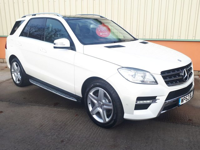 View our MERCEDES-BENZ M-CLASS