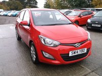 USED 2014 14 HYUNDAI I20 1.2 ACTIVE 5d 84 BHP Beautifully maintained I20 With 2 keys, FSH and a MOT Until Feb 2020!