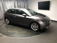 USED 2015 65 SEAT LEON 1.6 TDI SE TECHNOLOGY 3d 105 BHP FREE UK DELIVERY, AUX INPUT, BLUETOOTH AUDIO & TELEPHONE CONNECTIVITY, CLIMATE CONTROL, CRUISE CONTROL, DAB RADIO, HEATED DOOR MIRRORS, START/STOP SYSTEM, STEERING WHEEL CONTROLS, TOUCH SCREEN HEAD UNIT, TRIP COMPUTER