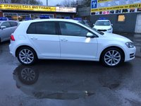 USED 2015 65 VOLKSWAGEN GOLF 1.4 GT TSI ACT BLUEMOTION TECHNOLOGY 5d 148 BHP IN PEARL WHITE WITH ONLY 35000 MILES, FULL SERVICE HISTORY, 1 OWNER, ULEZ COMPLIANT AND A GREAT SPEC INCLUDING SAT NAV  Approved Cars are pleased to offer this immaculately stunning pearl white 1.4 petrol Volkswagen Golf GT tsi bluemotion. This car has been extremely well looked after and maintained and comes with a full service history with stamps at 10k, 20k, 24k and 34000 miles.This ideal fami;y car is extremely economical and comes with the volkswagen winter pack, sat nav, cruse control, automatic lights and wipers, DAB radio, bluetooth and much much more. For more information call 01622 871555