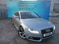 USED 2011 11 AUDI A5 2.0 TDI S LINE SPECIAL EDITION 2d 168 BHP