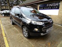 USED 2016 66 FORD ECOSPORT 1.5 TITANIUM TDCI 5d 94 BHP * £30 ROAD TAX * 1 PRIVATE KEEPER * BLUETOOTH * 2 KEYS *