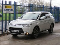 USED 2014 64 MITSUBISHI OUTLANDER 2.3 DI-D GX 3 5d 147 BHP 7 seater,Full Leather,service history